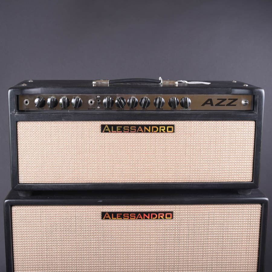 Alessandro 1/2 AZZ Amp Head New - Carter Vintage Guitars
