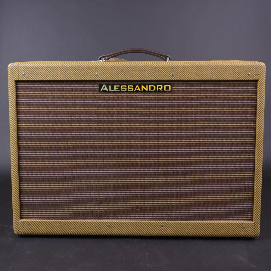 Alessandro High Powered Tweed Twin New - Carter Vintage Guitars