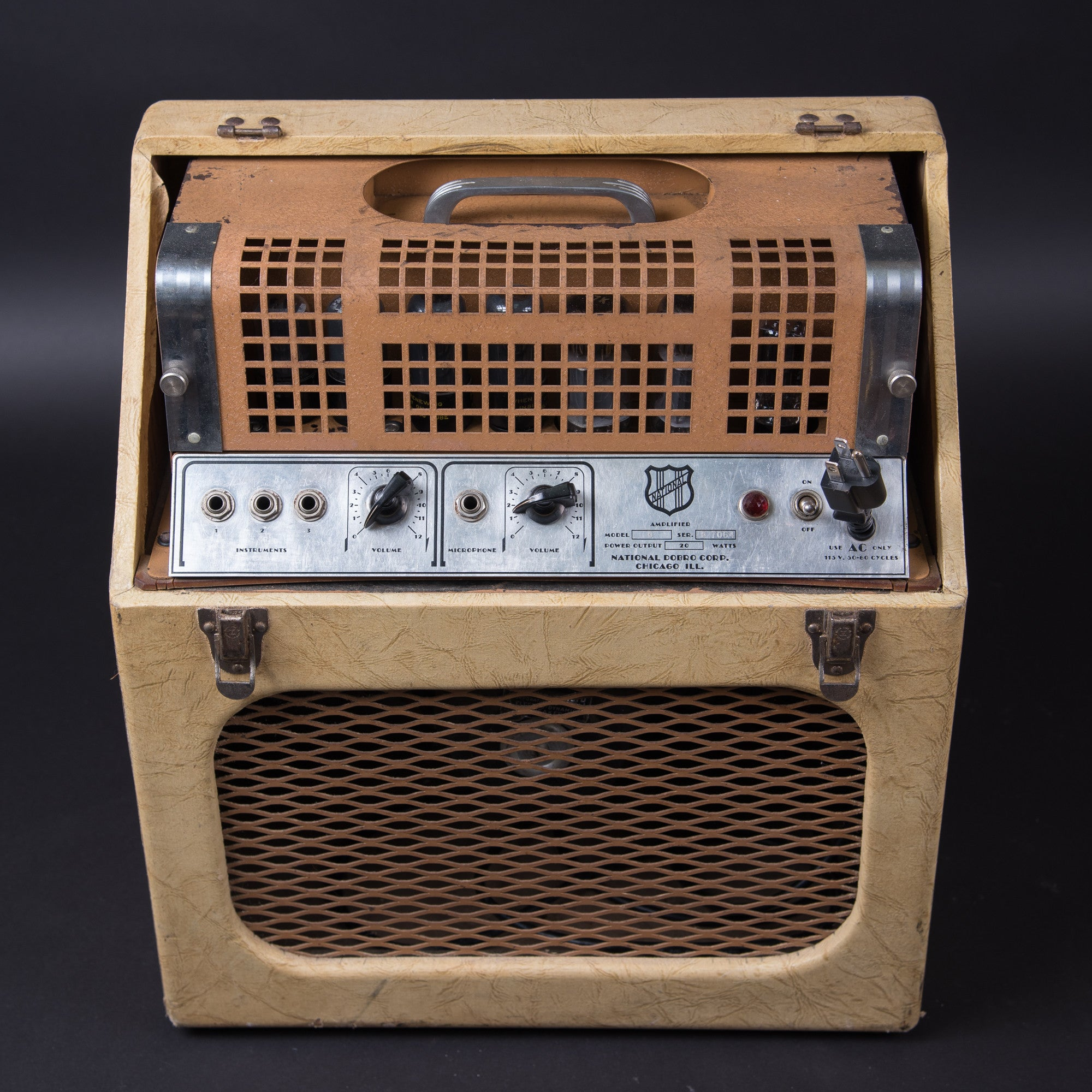 National Model B Amp 1938
