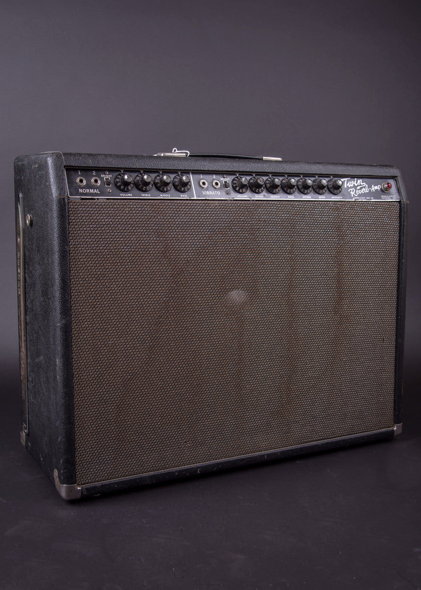 Fender Twin Reverb. The First Twin 1963