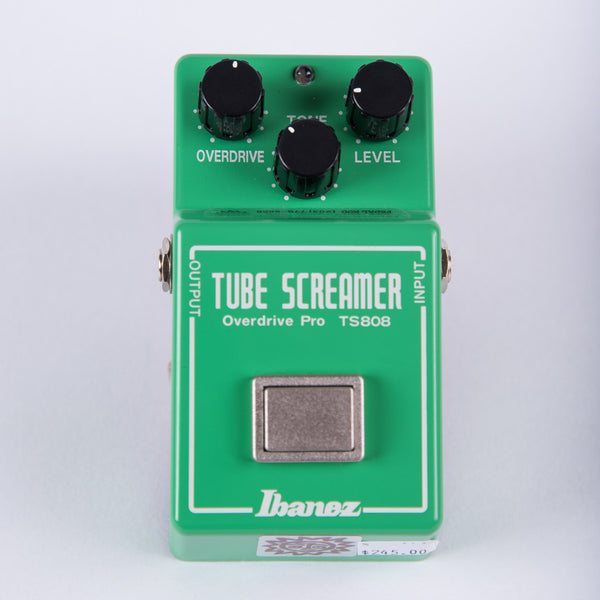 Ibanez Tube Screamer Overdrive Pro TS-808 True Vintage Mod by Analogman