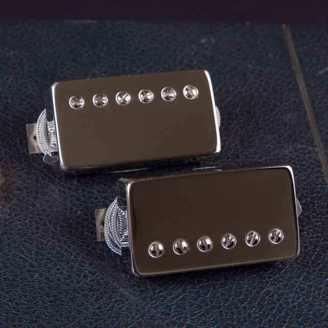Bare Knuckle Riff Raff Humbucker Set Nickle Covers Unpotted New