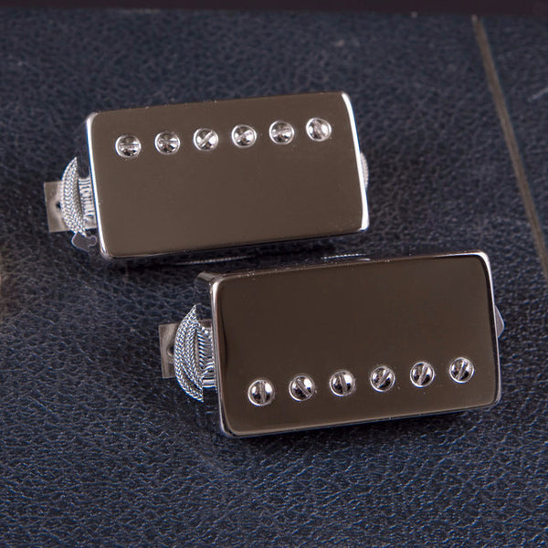 Bare Knuckle Mule Humbucker Set Nickle Covers New