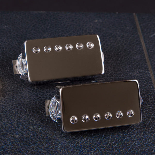 Bare Knuckle Riff Raff Humbucker Set Nickle Covers New