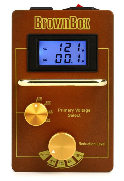 AmpRX BrownBox Tube Amp Voltage Optimizer