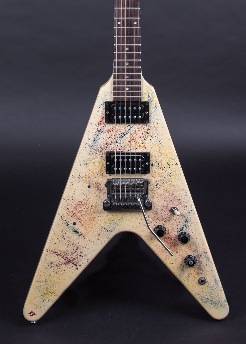 Gibson Flying V Splatter 1984