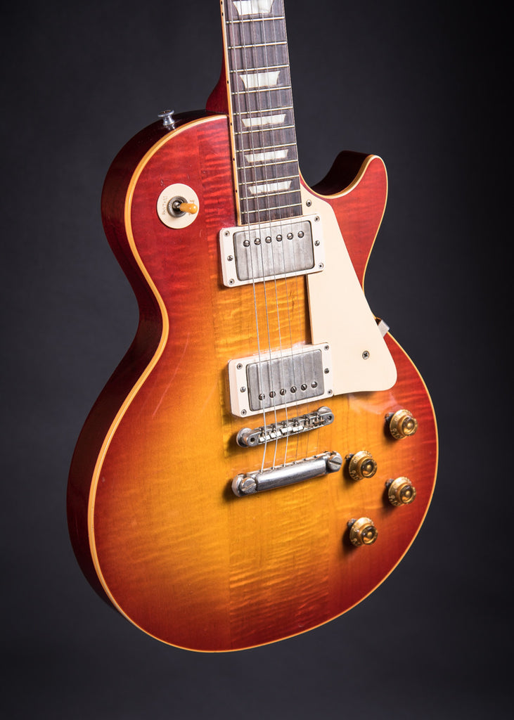 gibson les paul the first burst 1958 sold carter vintage guitars. Black Bedroom Furniture Sets. Home Design Ideas