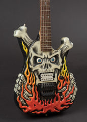 ESP George Lynch Flaming Skull 1992