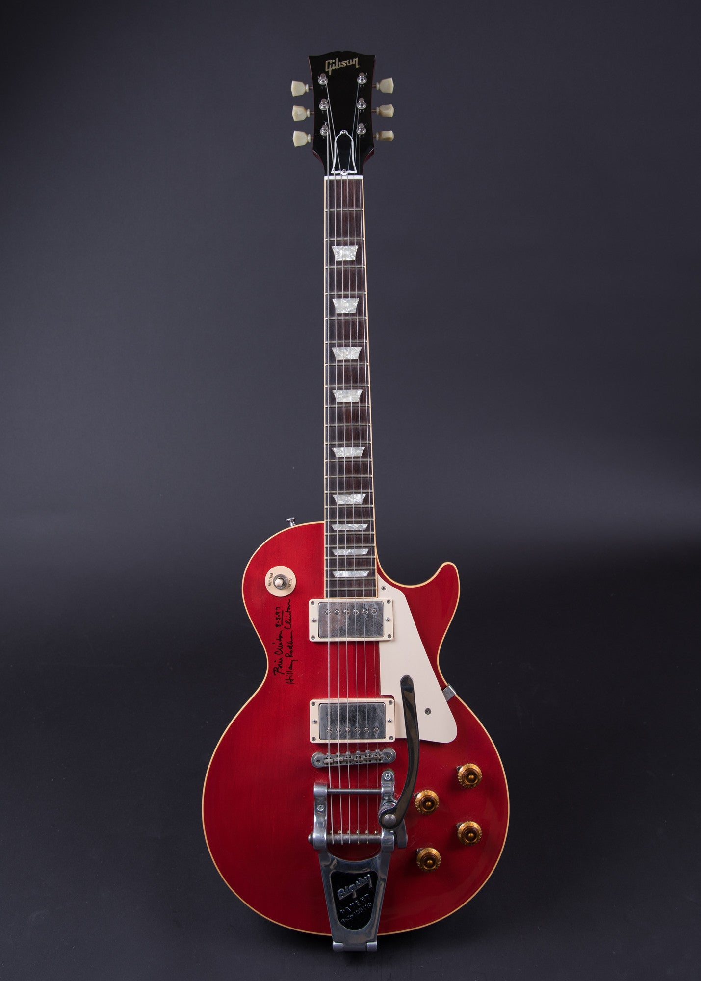 Gibson Les Paul Les Paul 1958 Reissue red top 1997