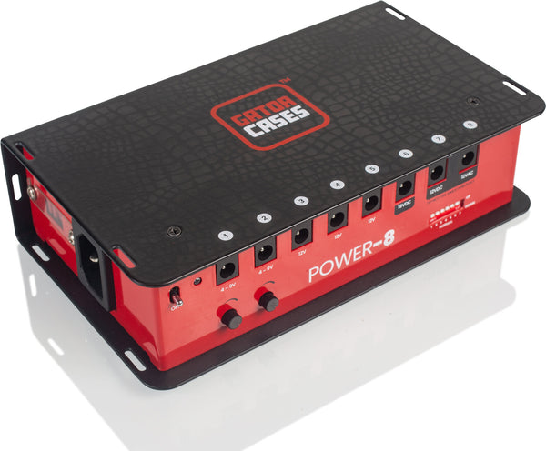 Gator Cases Power 8 Output Power Supply