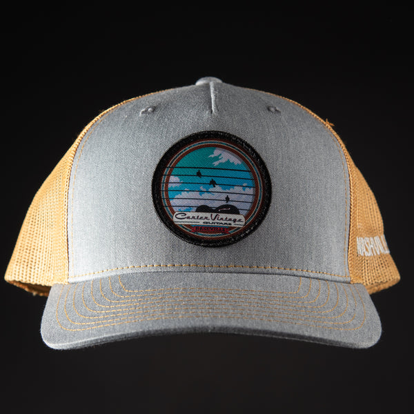 Carter Vintage Guitars Bird Patch Hats