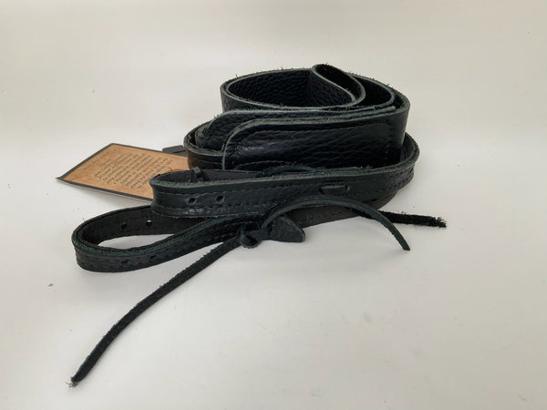 Long Hollow Leather - Softy Banjo Strap