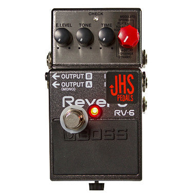 JHS RV-6 Reverb Boss modified by JHS