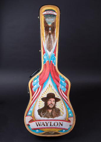 James A. Willis Custom Waylon Jennings Case