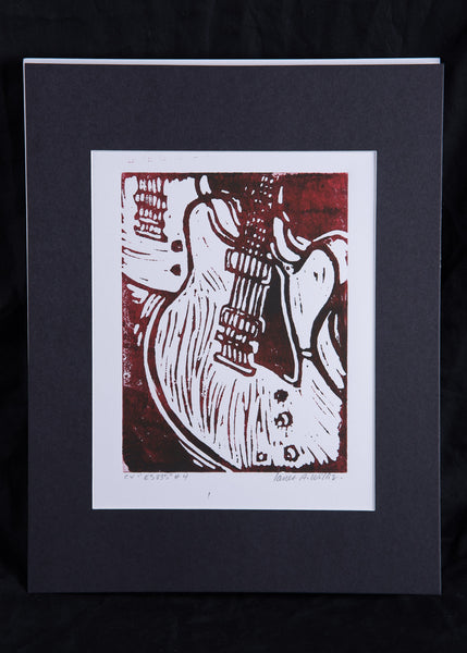 """ES-335"" Print by James A. Willis"
