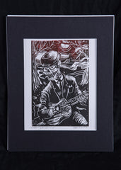 """Disappearing Railroad Blues"" Print by James A. Willis"