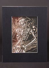 """Walking Skeleton"" Print by James A. Willis"