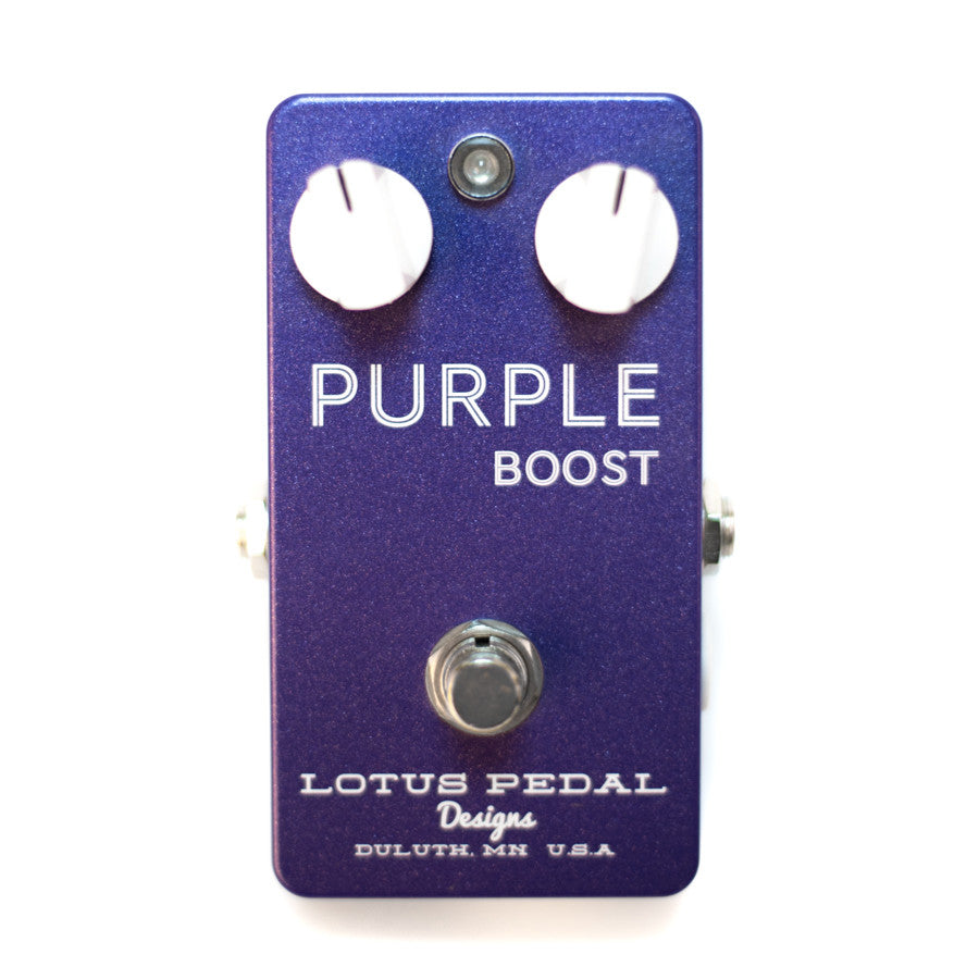 Lotus Pedal Purple Boost