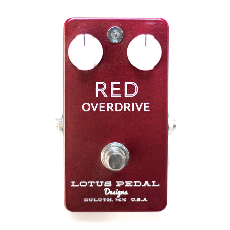 Lotus Pedal Red Overdrive