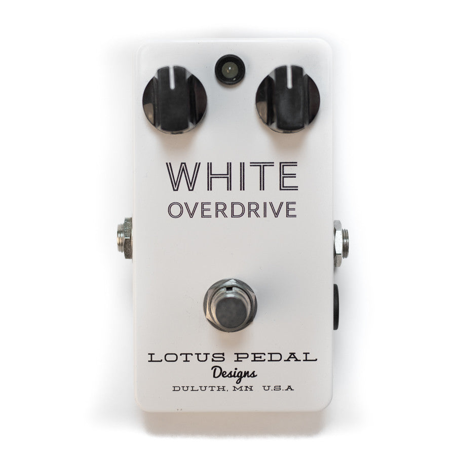 Lotus Pedal White Overdrive