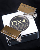 "OX4 ""Carter Vintage Guitars"" Humbucker Set New"