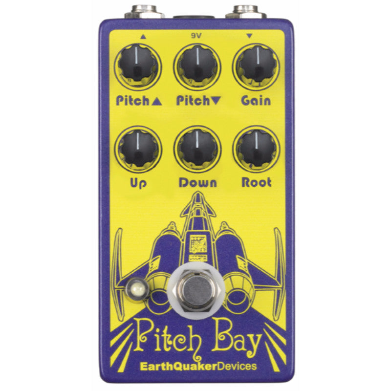 EarthQuaker Devices Pitch Bay Polyphonic Harmonizer and Distortion Generator