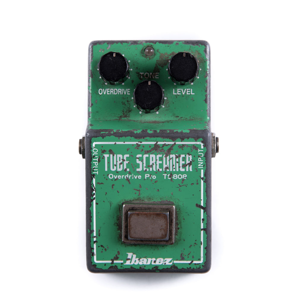 Stevie Ray Vaughan's Original Ibanez TS808 Tube Sceamer