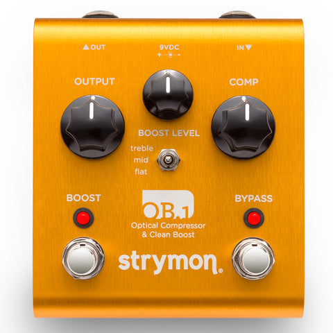 Strymon OB 1 Optical Compressor & Clean Boost