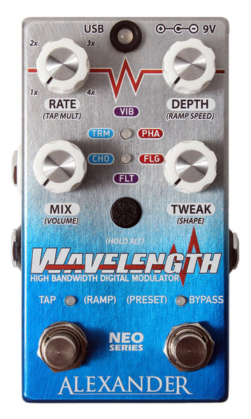 Alexander Pedals Wavelength Modulator