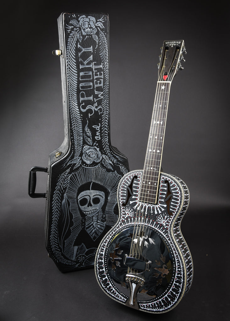 James A. Willis Custom Washburn Resonator