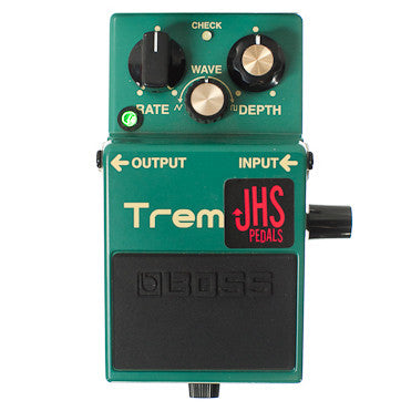 JHS TR-2 Tremolo Boss modified by JHS