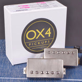 "OX4 ""Hot Duane"" Humbucker Set New"