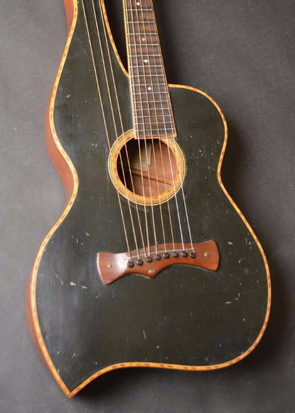Knutsen 9-string Harp Guitar Early 1910's