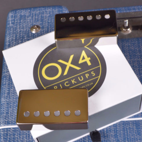 OX4 Humbucker Cover Set New