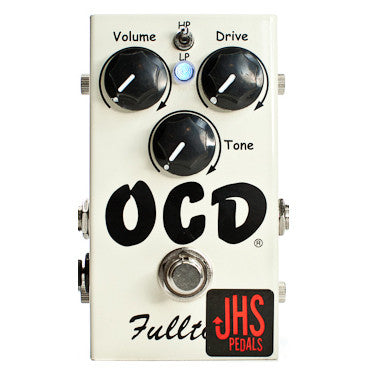 JHS Fulltone OCD Overdrive Distortion modified by JHS