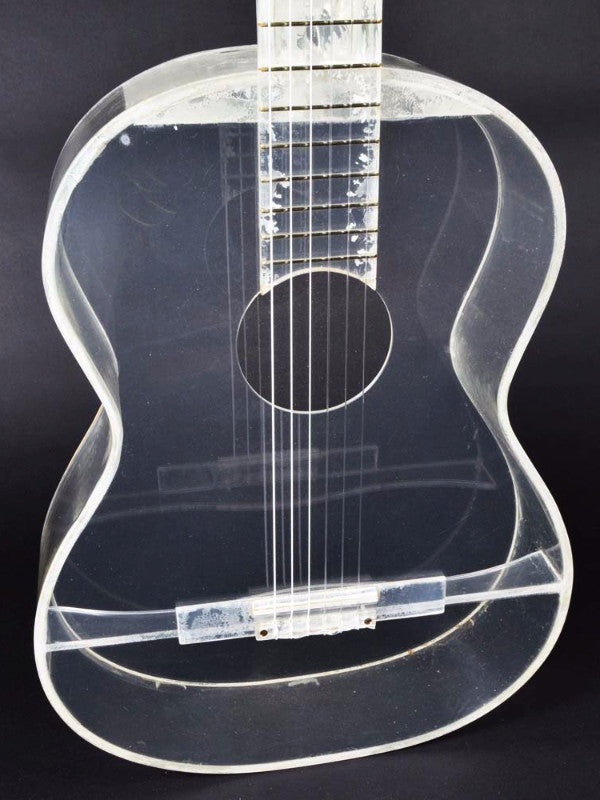 Mason William's Plexiglass Guitar 1970