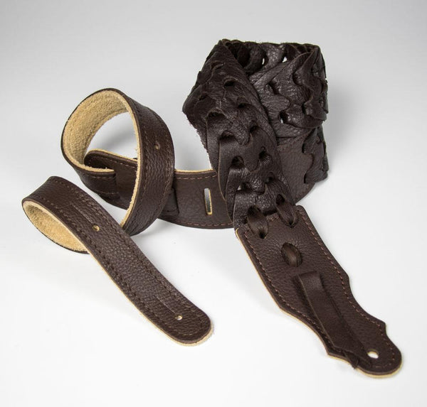 "Franklin Straps - 3"" Soft Linked Leather"