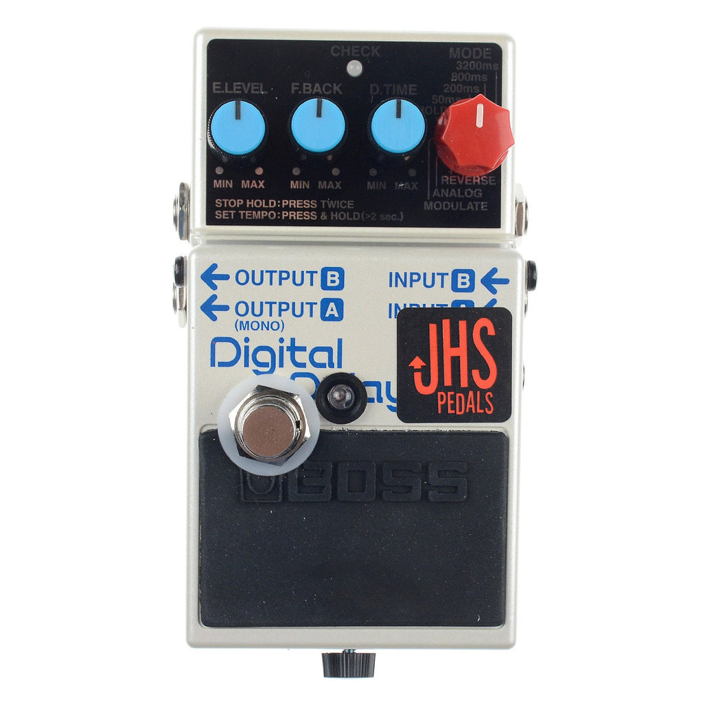 JHS DD-7 Digital Delay Boss modified by JHS