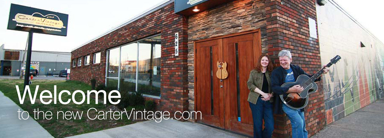 Welcome to Carter Vintage Guitars