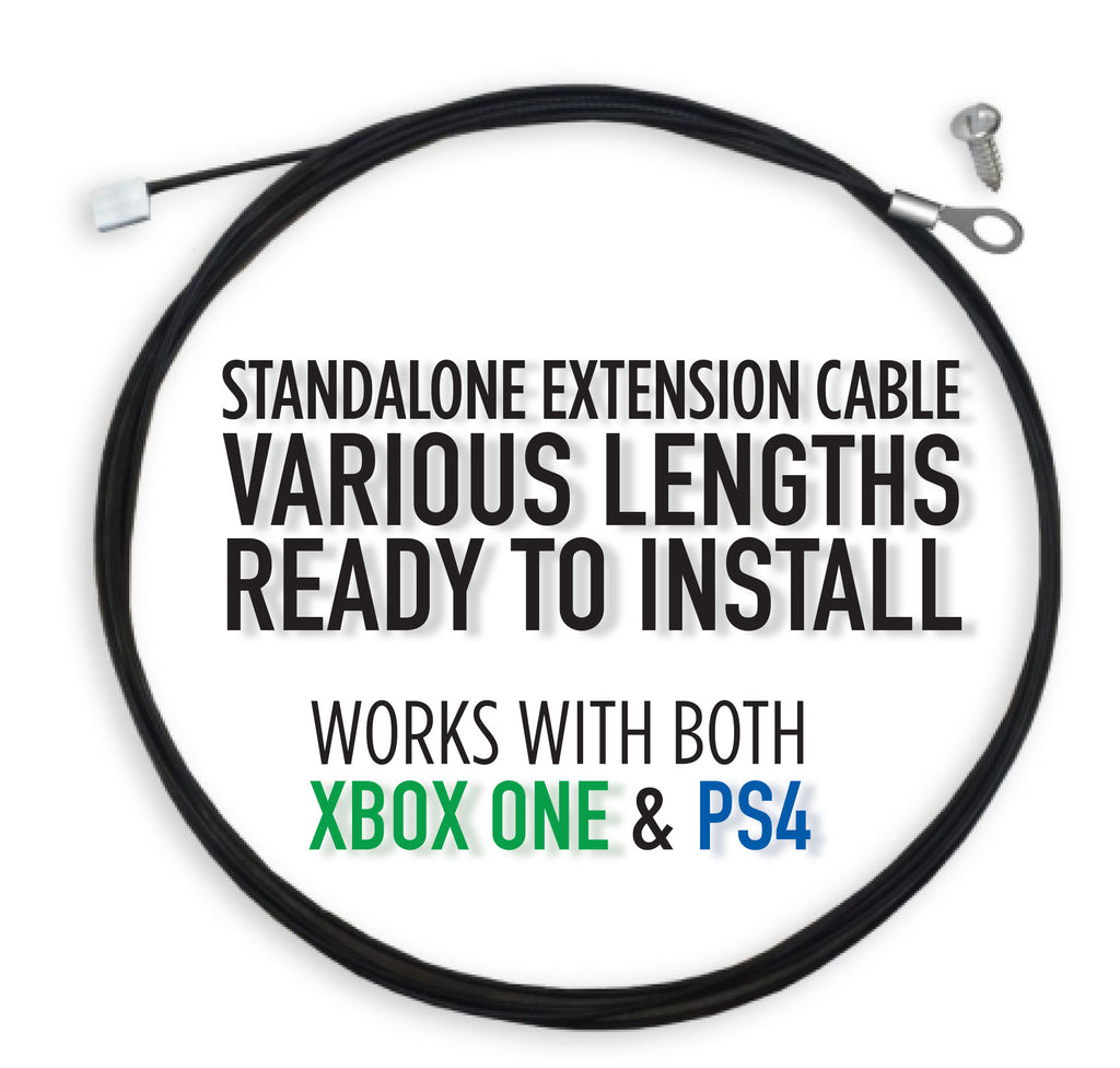 (Standalone) Extended Security Tethers - Ready to Install (XB1 and PS4)