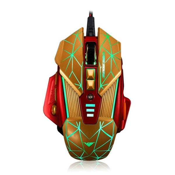 Black Widow Ultra High Speed Optical PC Gaming Mouse (4000 DPI / 8D Buttons) by lockdownmycontroller.com