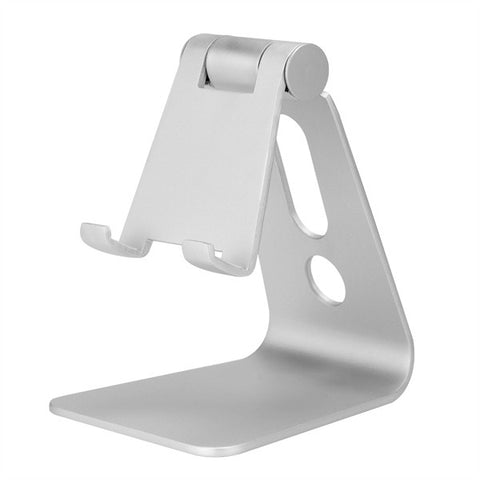silver Universal Aluminum Stand for Smart Phones and Tablets from lockdownmycontroller.com