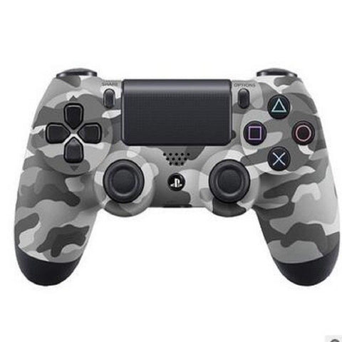 PlayStation 4 Dualshock 4 Wireless Controllers (grey camo) from lockdownmycontroller.com