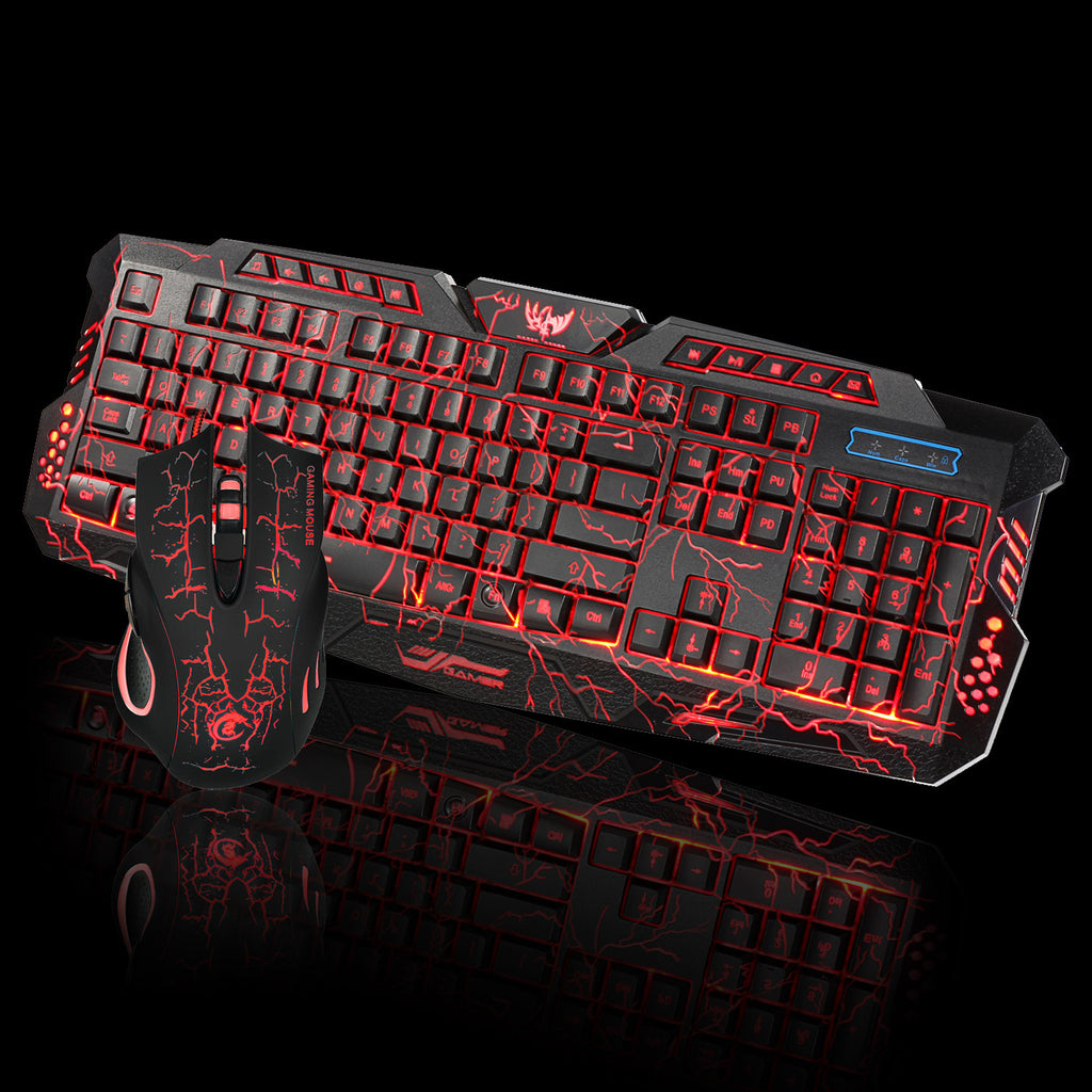 RedRum™ Pro 2.4G Wired Keyboard & Mouse setup for Gaming