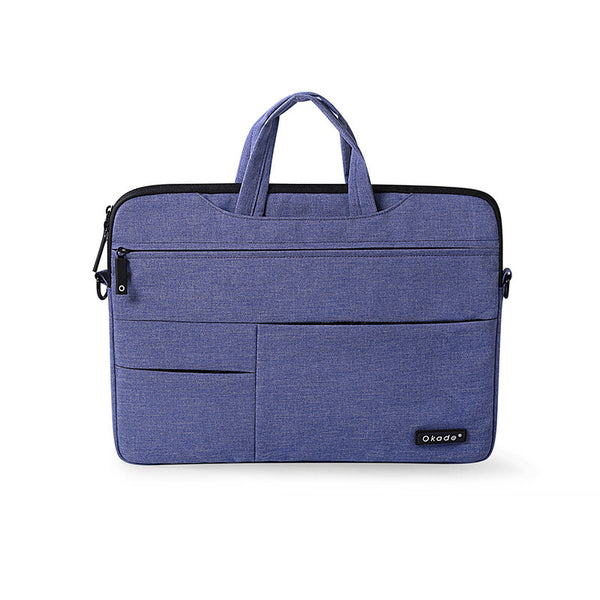 Purple Messenger Style Waterproof Shoulder Bag for Mac Laptops from lockdownmycontroller.com