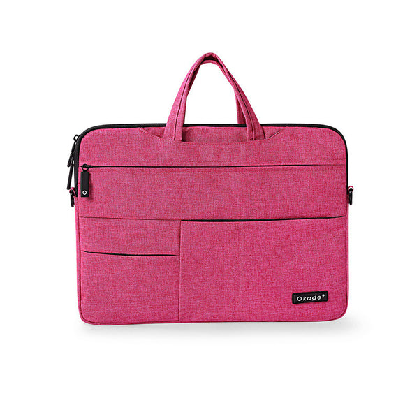 Pink Messenger Style Waterproof Shoulder Bag for Mac Laptops from lockdownmycontroller.com