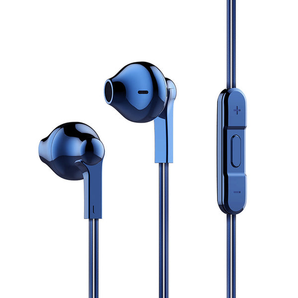 Blue BassMaster™ Liquid H600 Wired Earbuds From Lockdownmycontroller.com