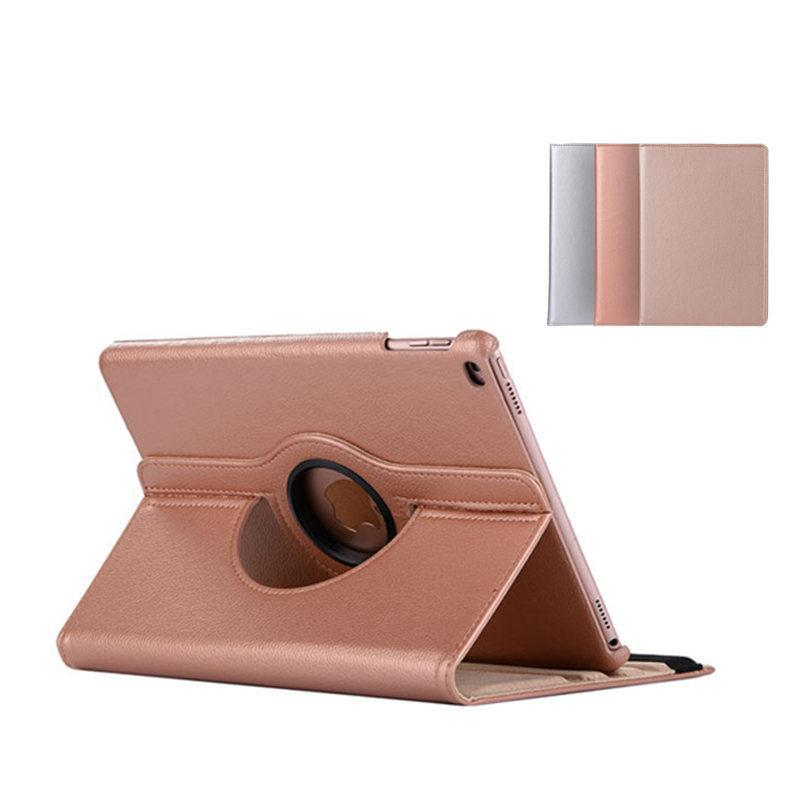 Premium Leather Flip Stand Case for Apple iPad Air 2