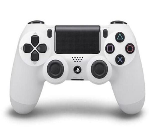 PlayStation 4 Dualshock 4 Wireless Controllers (white) from lockdownmycontroller.com