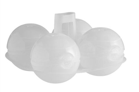 Mastrad Ice Ball Mold- Set of 4- Clear